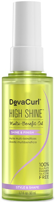 DevaCurl High Shine Multi Benefit Oil 1.7 oz