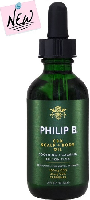 Philip B CBD Scalp and Body Oil 2 oz