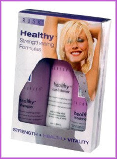 Rusk Healthy Leave-In Strengthening Treatment