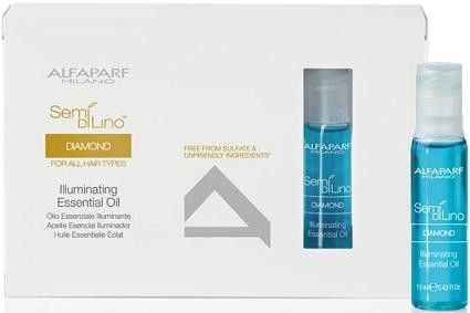 Alfaparf Semi Di Lino Diamond Illuminating Essential Oil 12 x 13ml vials (new packaging)