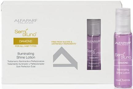 Alfaparf Semi Di Lino Diamond Illuminating Shine Lotion 12 x 13ml vials (new packaging)