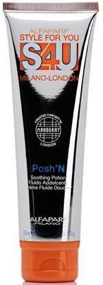 Alfaparf S4U Posh'n De-frizzing & Soothing Potion 5.29 oz (previous packaging)