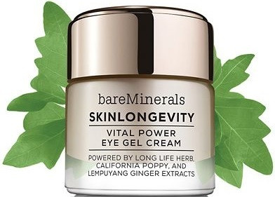 Bare Minerals Skinsorials Skinlongevity Vital Power Eye Gel Cream .5 oz
