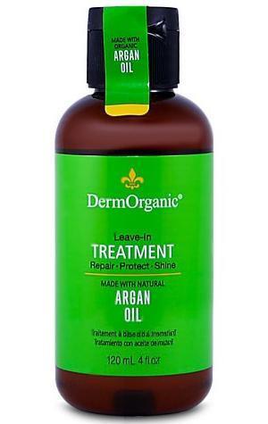 DermOrganic Leave-In Treatment with Organic Argan Oil 4 oz