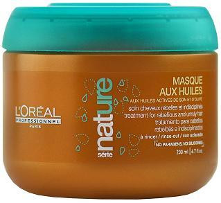 L'oreal Professionnel Serie Nature Masque Aux Huiles Treatment for Rebellious and Unruly Hair 6.7 oz - 50% OFF CLEARANCE