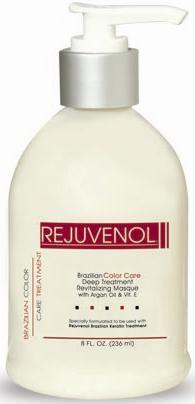 Rejuvenol Brazilian Color Care Deep Treatment Revitalizing Masque 8 oz