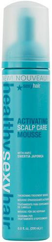 Sexy Hair Healthy Sexy Hair Activating Scalp Care Thickening Treatment Mousse 6.8 oz