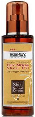 Savvanah Hair Therapy Damage Repair Pure African Shea Oil 3.4 oz