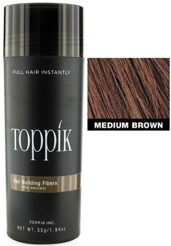 Toppik Hair Building Fibers - Medium Brown 1.94 oz