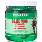 Clubman Styling Gel - Hard to Hold (green) 16 oz