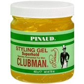 Clubman Styling Gel - Super Hold (yellow) 16 oz
