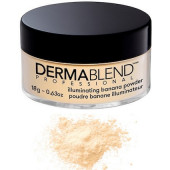 Dermablend Loose Setting Powder 1 oz - Illuminating Banana Powder