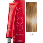 Schwarzkopf Igora Royal Hair Color - 8/0 Light Blonde