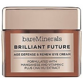 Bare Minerals Correctives Brilliant Future Age Defense & Renew Eye Cream .5 oz