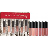 Bare Minerals Be Moxie and Merry 6 Piece Mini Marvelous Moxie Lip Gloss Collection 2016 Holiday Set (while supplies last)
