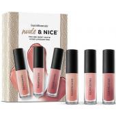 Bare Minerals Mini Gen Nude Matte Liquid Lipstick Trio 2016 Holiday Set (while supplies last)