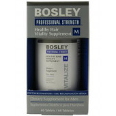 Bosley Healthy Hair Vitality Supplement for Men - 60 count