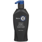 It's a 10 He's a 10 Miracle 3-in-1 Shampoo, Conditioner & Body Wash 10 oz