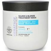 Keratage Silver & Blonde Treatment Mask 17 oz