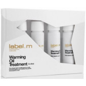 label.m Warming Oil Treatment 4 x .5 oz Tubes