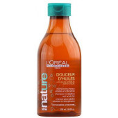 L'oreal Professionnel Serie Nature Douceur D'Huiles Shampoo for Rebellious and Unruly hair 8.45 oz - 50% OFF CLEARANCE
