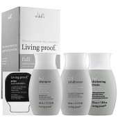 Living Proof Full Travel Kit with Thickening Cream