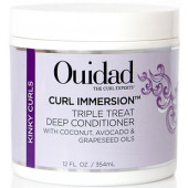 Ouidad Curl Immersion Triple Treat Deep Conditioner 12 oz