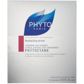 Phyto Phytocyane Revitalizing Serum - 12 ampoules x 0.25 oz