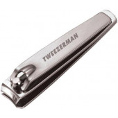 Tweezerman Stainless Steel Fingernail Clipper (3013-P)